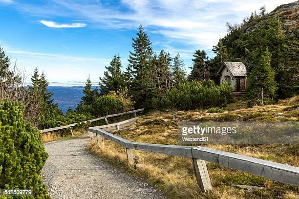 Germany, Bavaria, Bavarian Forest National Park, Great Arber, Chapel