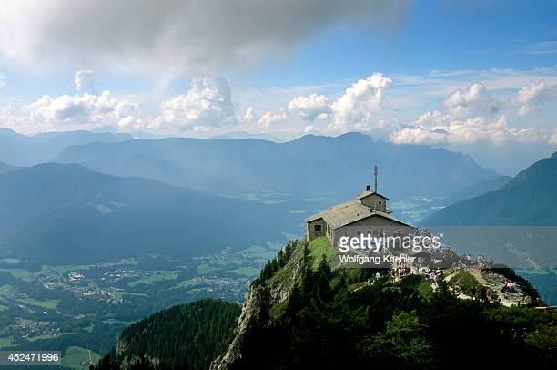 Germany Bavaria Berchtesgaden Kehlsteinhaus
