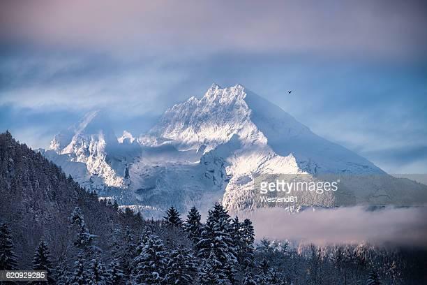 Germany, Bavaria, Berchtesgaden National Park, View to Watzmann