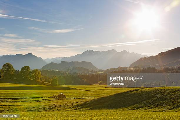 Germany, Bavaria, Chiemgau, Samerberg near Grainau