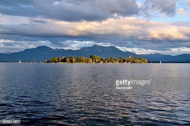 Germany, Bavaria, Chiemsee, island Frauenchiemsee
