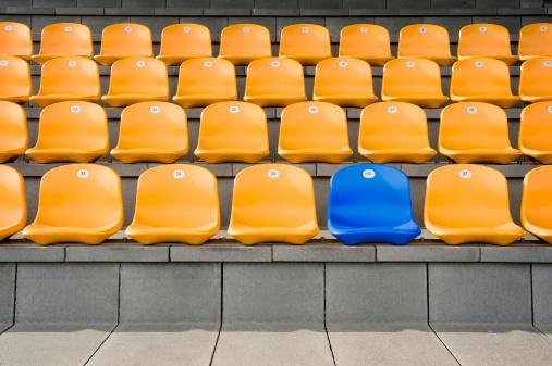 Germany, Bavaria, Empty stadium seats - gettyimageskorea