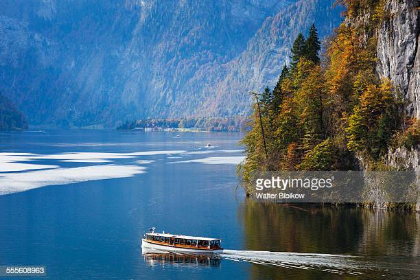germany, bavaria, exterior - tourboat stock pictures, royalty-free photos & images