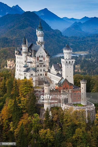 germany, bavaria, exterior - neuschwanstein castle stock pictures, royalty-free photos & images