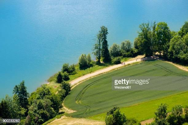 Germany, Bavaria, Franconia, Happurg Lake at Hersbruck Alp