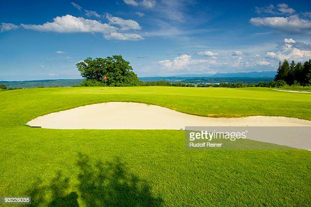 Germany, Bavaria, Golf course