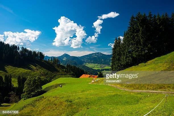Germany, Bavaria, Illertal near Oberstdorf