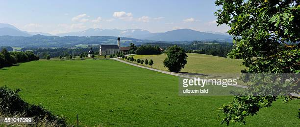 Increasingly popular as a tourist destination is the German Bavaria like the picture in the foothills of the Alps or in Altmühltal Beilngries