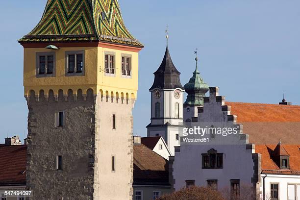 Germany, Bavaria, Lindau, Mangturm