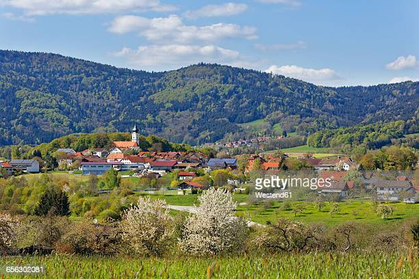 Germany, Bavaria, Lower Bavaria, Bavarian Forest, Lallinger Winkel, village Lalling