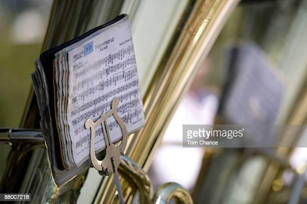 germany, bavaria, munich, brass band, close-up - ブラスバンド ストックフォトと画像