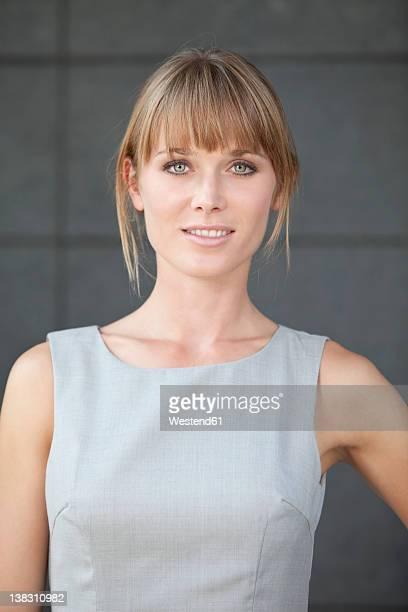 Germany, Bavaria, Munich, Close up of businesswoman, smiling, portrait