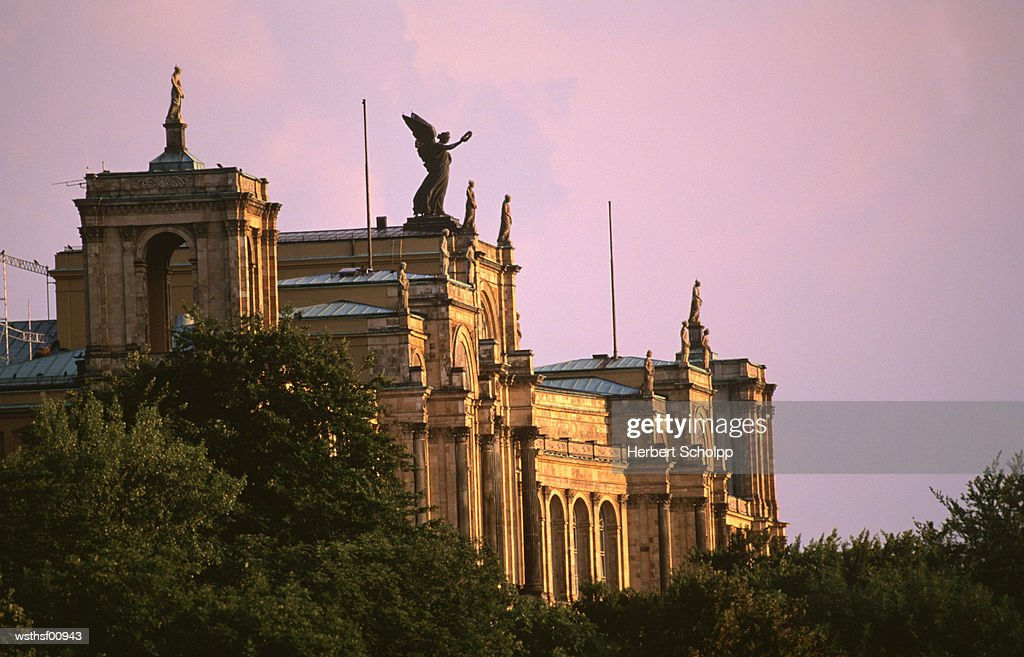 Germany, Bavaria, Munich, Maximilianeum : Stock Photo