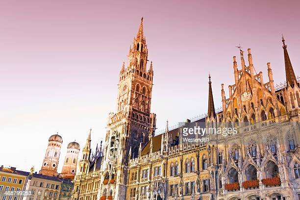 Germany, Bavaria, Munich, New Town Hall at Marienplatz