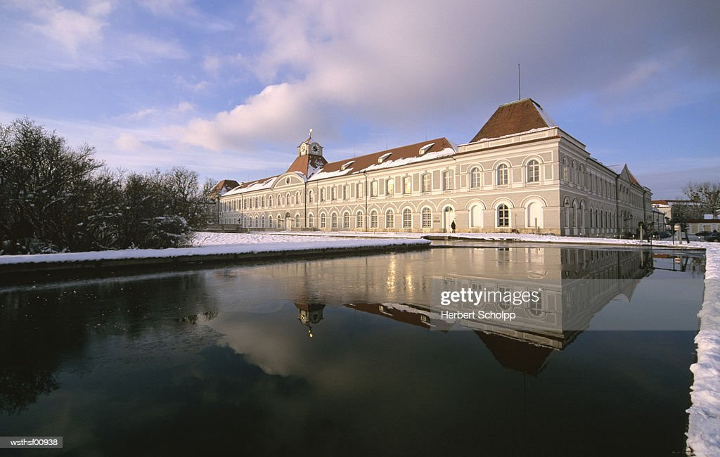 Germany, Bavaria, Munich, Schloss Nymphenburg : Stock Photo