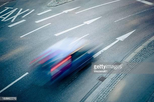 Germany, Bavaria, Munich, Traffic on road