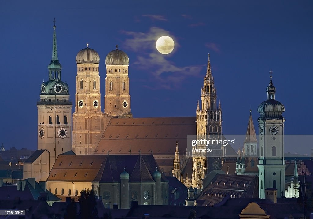 Germany, Bavaria, Munich, View of city : Stock Photo