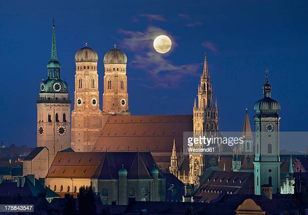 germany, bavaria, munich, view of city - münchen stock-fotos und bilder