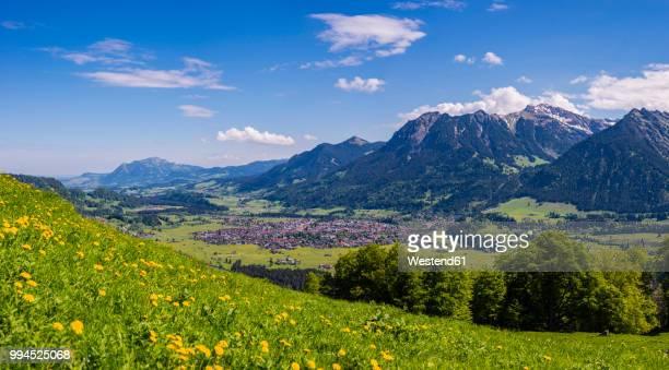 germany, bavaria, oberallgaeu, oberstdorf - bavarian alps stock pictures, royalty-free photos & images
