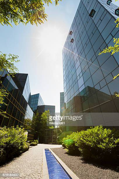 Germany, Bavaria, office buildings of Nymphenburger Hoefe