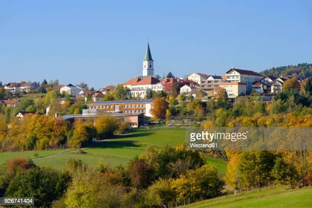 Germany, Bavaria, Perlesreut, townscape