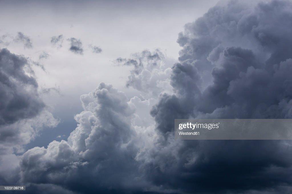 Germany, Bavaria, rain cloud : Stock Photo