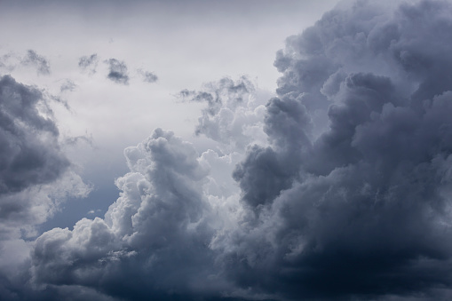 Germany, Bavaria, rain cloud - gettyimageskorea