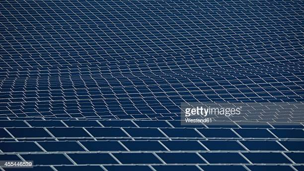 Germany, Bavaria, Solar panels, close up