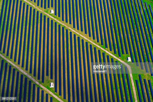 Germany, Bavaria, solar plant