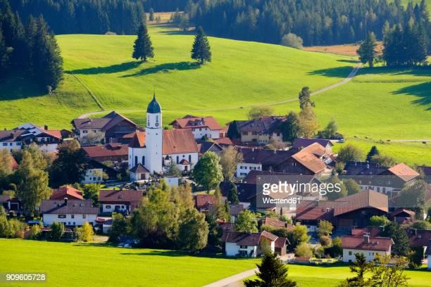 Germany, Bavaria, Swabia, Allgaeu, East Allgaeu, Zell