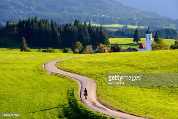 Germany, Bavaria, Swabia, Allgaeu, East Allgaeu, Zell, St. Moritz Church