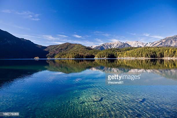 Germany, Bavaria, The Alps, Lake Eibsee