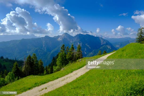 germany, bavaria, upper bavaria, ruhpolding, chiemgau, view from rauschberg to sonntagshorn - ルポルディング ストックフォトと画像