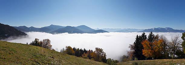 Germany, Bavaria, Upper Bavaria, View of mountains
