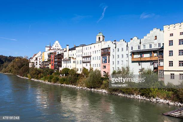 Germany, Bavaria, Upper Bavaria, Wasserburg am Inn, old town at Inn river