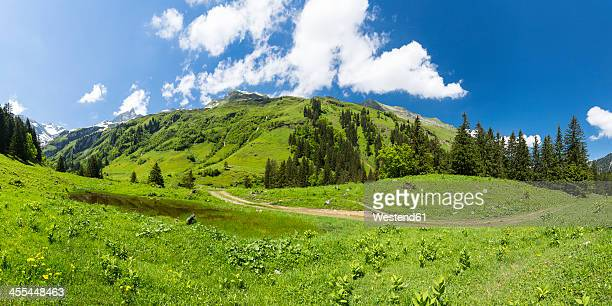 Germany, Bavaria, View of Allgaeu High Alps