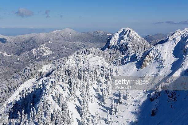 Germany, Bavaria, View of Tegelberg mountain