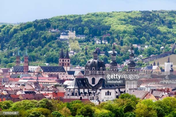 Germany, Bavaria, Wuerzburg, cityscape