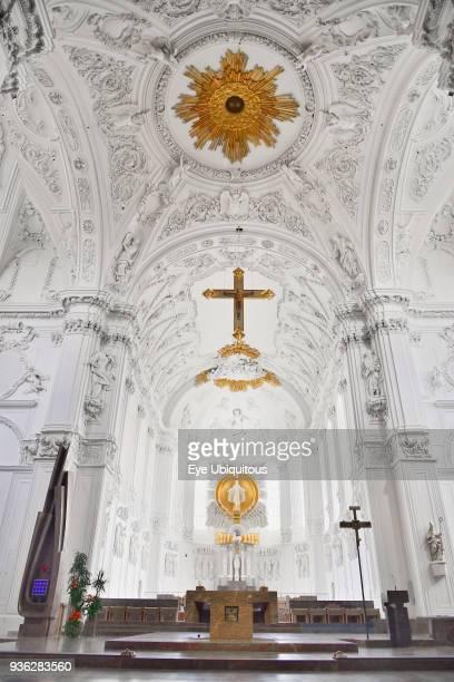 Germany Bavaria Wurzburg Cathedral of St Kilian the Altar