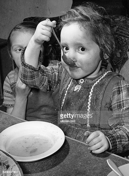 young girls spooning soop early fifties