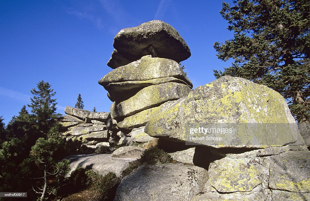 Germany, Bavarian forest, Bayerisch Ploeckenstein : Stock Photo