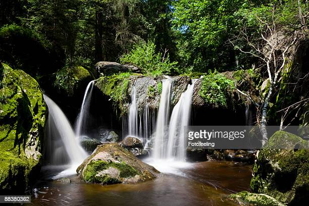 Germany, Bavarian Forest, Steinklamm, Waterfall