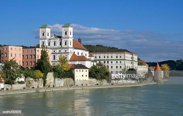 Germany, Bavarian Forest, Studienkirche in Passau