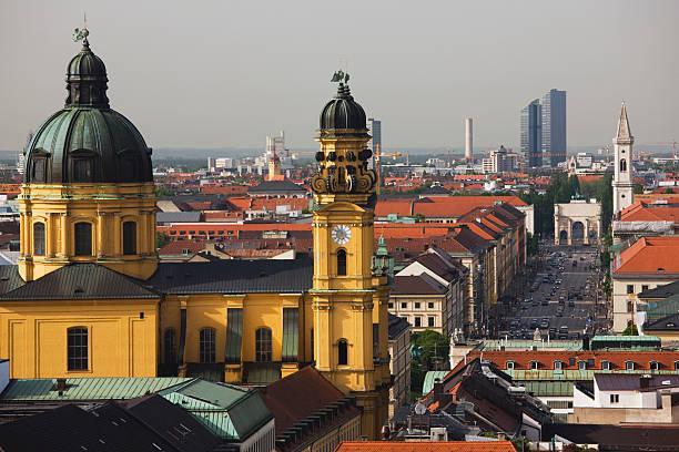 Germany, Bayern/Bavaria, Munich, Ludwigstrasse tow