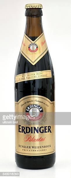 beer bottle Erdinger Pikantus bock beer stout