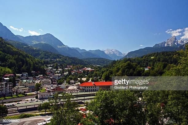 germany: berchtesgaden - watzmann massif stock photos and pictures