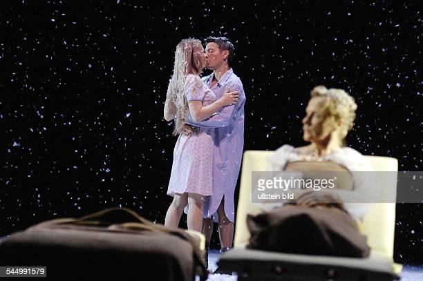 MaximGorkiTheatre play The Magic Mountain by Thomas Mann director Stefan Bachmann premiere 27 September 2008actors Anja Schneider Marek Harloff Ruth...