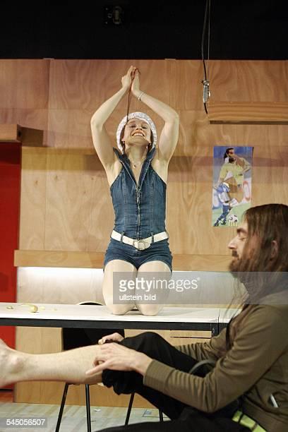 MaximGorkiTheatre /Studio plays 'Children of the Sun' by Maxim Gorki driected by Peter Kastenmueller premiere 06 Oktober 2006 actors Anja Schneider...