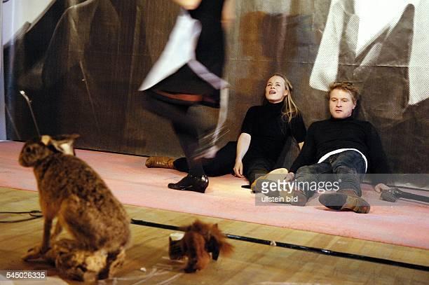 MaximGorkiTheatre / Studio presenting 'Miss Sara Sampson' by Gotthold Ephraim Lessing directed by Barbara Weber actors Hanna Eichel Anja Schneider...