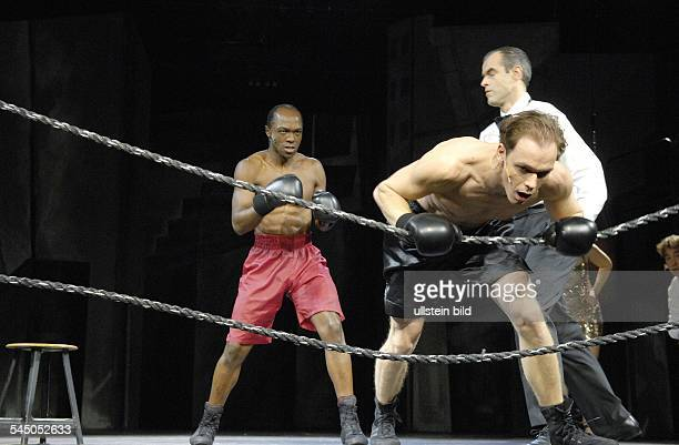 Germany - Berlin - Berlin: Tribuene Berlin. Shows the musical: The Fight of The Century by: James Edward Lyons. Music: Paul Graham Brown. Actors and...